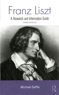 Cover of Franz Liszt: A Research and Information Guide