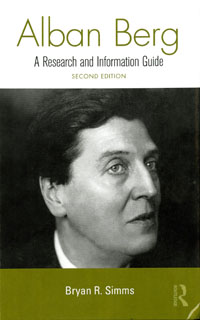 Cover of Alban Berg: A Research and Information Guide