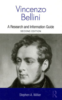 Cover of Vincenzo Bellini: A Research and Information Guide